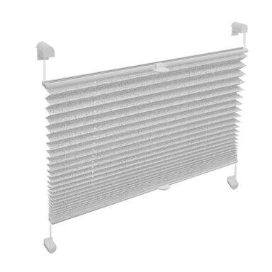 Roleta plisowana EASYFIX RÓŻE 100 x 130 cm biała