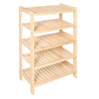 Regał drewniany NA PRZETWORY 93 x 70 x 33 cm