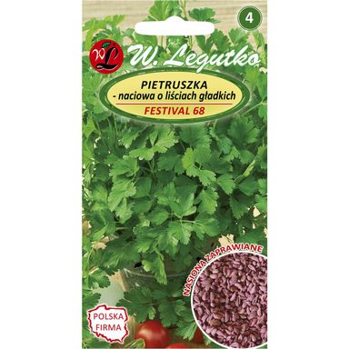 Pietruszka naciowa FESTIVAL 68 nasiona zaprawiane 5 g W. LEGUTKO