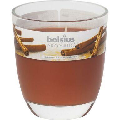 Świeca zapachowa BIG JAR  zapach: Cynamonowy  BOLSIUS