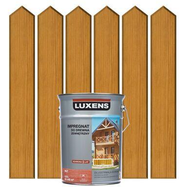 Impregnat do drewna ZEWNĘTRZNY 4.5 l Iroko LUXENS