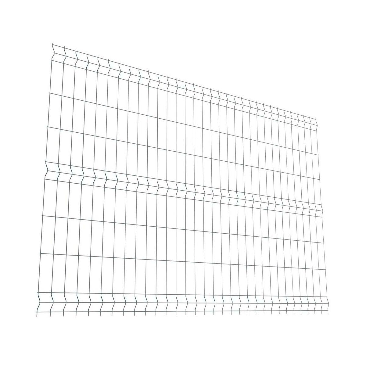 Panel Ogrodzeniowy 3d Polargos 153x250 Antracyt Leroy Merlin