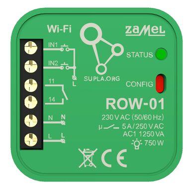 Odbiornik WI-FI ROW-01 2-kierunkowy SUPLA ZAMEL