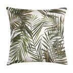 Poduszka w liście palmy zielona 45 x 45 cm