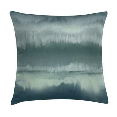 Poduszka ombre Aurora turkusowa 45 x 45 cm