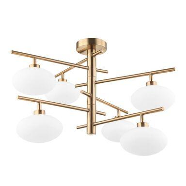 Lampa wisząca Fiorenzo złota G9 Italux