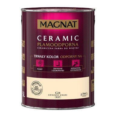 Farba wewnętrzna CERAMIC 5 l Gwiezdny kwarc MAGNAT