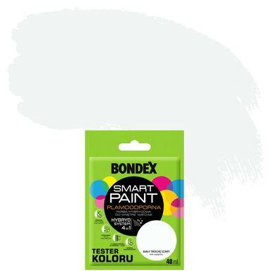 Tester farby SMART PAINT 40 ml Biały trochę szary BONDEX