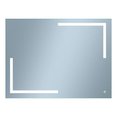 Lustro łazienkowe z oświetleniem wbudowanym SIENNA 80 x 60 VENTI