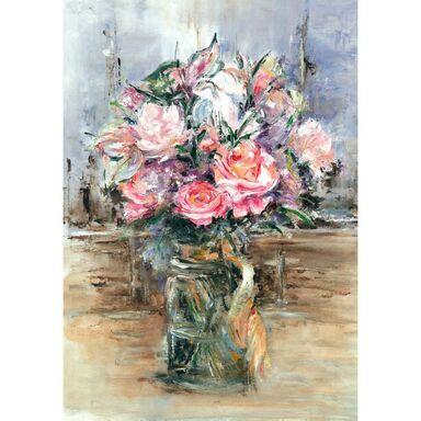 Kanwa ART KWIATY 70 x 100 cm