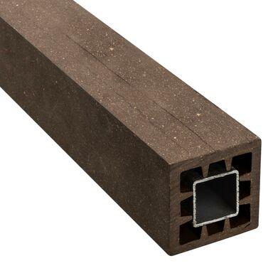 Kantówka kompozytowa 6x6x190 cm brązowa WPC WINFLOOR