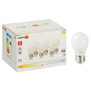 Żarówka LED E27 6 szt. (230 V) 8 W 806 lm Neutralny LEXMAN