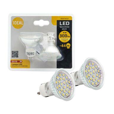 Zestaw żarówek LED GU10 (230 V) 4 W 300 lm Ciepła biel KANLUX