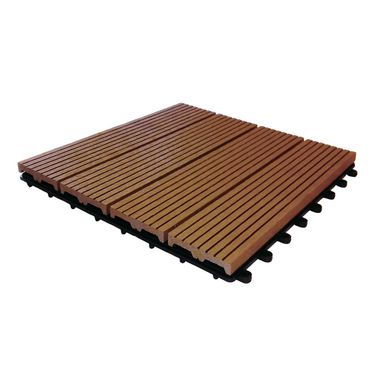 Podest tarasowy kompozytowy 30 x 30 cm 20 mm redwood IDECK DLH