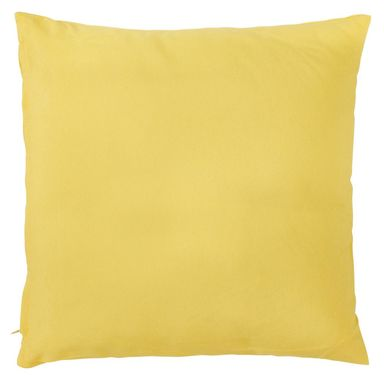 Poduszka ELEMA żółta 40 x 40 cm INSPIRE