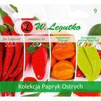 Papryka ostra kolekcja nasion tradycyjnych W. LEGUTKO