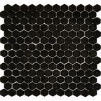 Mozaika Hexa Black Mat 30 x 30 Artens