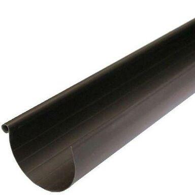 Rynna dachowa ryflowana G80 4 m Brązowa SCALA PLASTICS