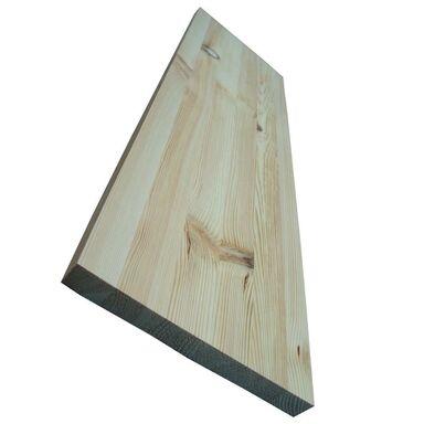 Parapet wewnętrzny sosnowy sęczny 90x25x2.7 cm