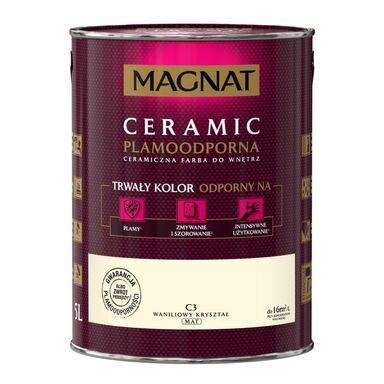 Farba wewnętrzna CERAMIC 5 l Waniliowy kryształ MAGNAT