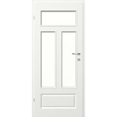 Skrzydło drzwiowe pokojowe MORANO I  Białe 90 Lewe CLASSEN