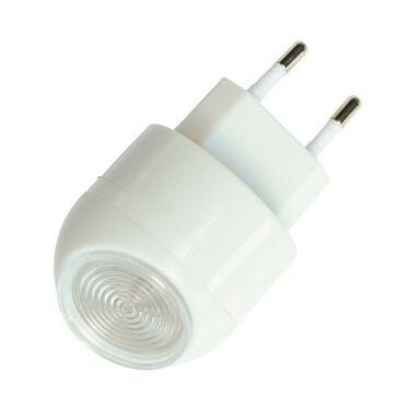 Lampa nocna QM352 z zujnikiem biała LED DPM