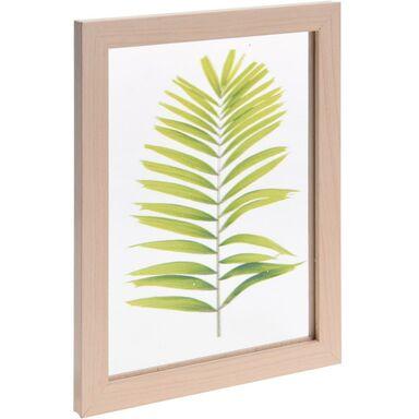 Ramka na zdjęcie 14 x 19 cm jasnobrązowa drewniana