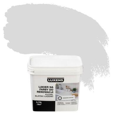 Lakier na farby 0.75 l do renowacji kuchni, blatów i łazienki Bezbarwny Mat LUXENS
