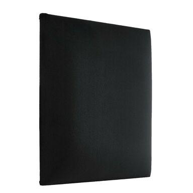 Panel tapicerowany Czarny 30 x 30 cm
