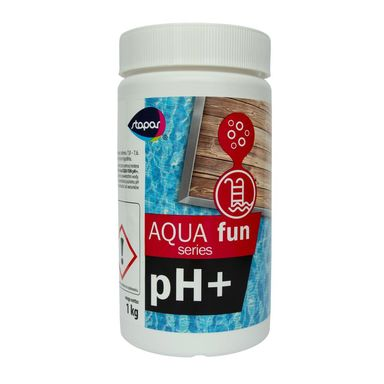 Środek podwyższający pH wody 1 kg AQUA FUN pH+ STAPAR
