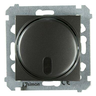Ściemniacz przyciskowy SIMON 54  antracyt  KONTAKT SIMON