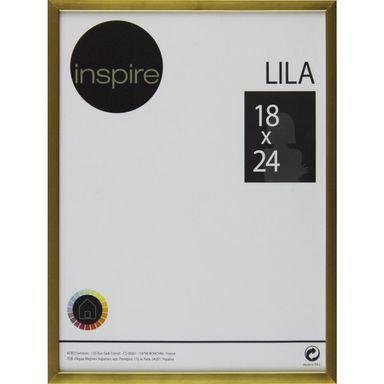 Ramka LILA 18 x 24 cm złota INSPIRE