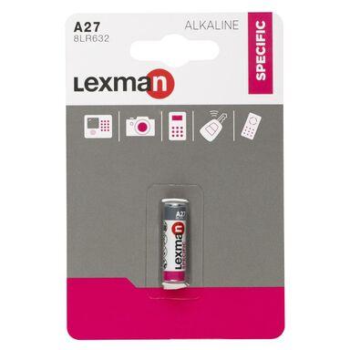 Bateria ALKALICZNA A27 1 SZT. LEXMAN