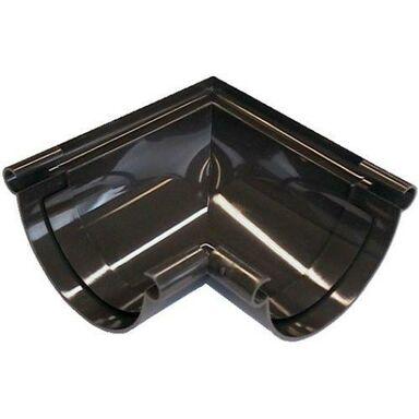Złączka kątowa do rynny G125 Wewnętrzna Brązowa SCALA PLASTICS