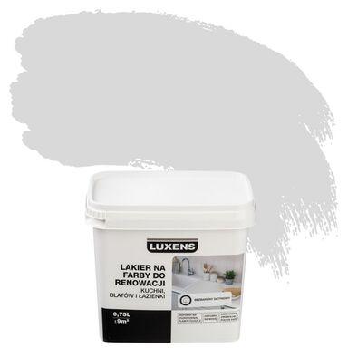 Lakier na farby 0.75 l do renowacji kuchni, blatów i łazienki Bezbarwny Satyna LUXENS