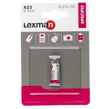 Bateria ALKALICZNA A23 1 SZT. LEXMAN