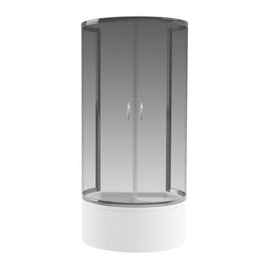 Kabina prysznicowa RONDO 85 x 100 cm WELLNEO