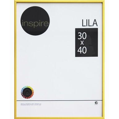 Ramka LILA 30 x 40 cm złota INSPIRE
