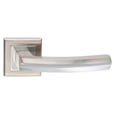 Klamka drzwiowa na rozecie INES Nikiel Chrom SCHAFFNER