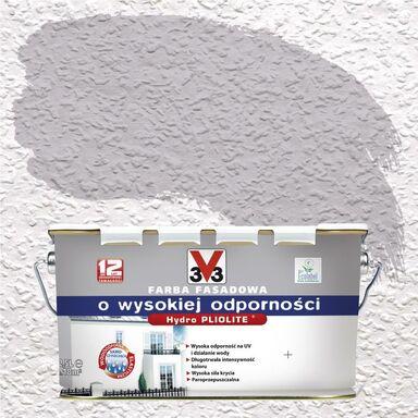Farba elewacyjna akrylowa O WYSOKIEJ ODPORNOŚCI Stalowy V33