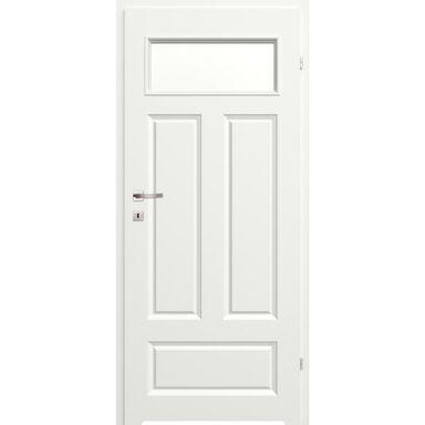 Skrzydło drzwiowe z podcięciem wentylacyjnym Morano I  Białe 90 Prawe Classen