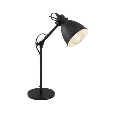 Lampka biurkowa PRIDDY czarna E27 EGLO