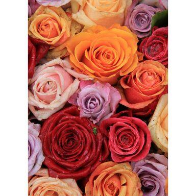 Kanwa Bukiet Róż 50 x 70 cm