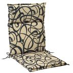 Poduszka na krzesło 107 x 47 x 4.5 cm CINO brązowa
