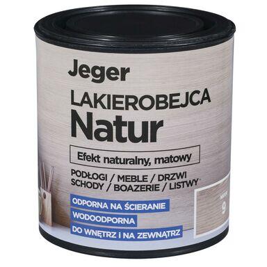 Lakierobejca NATUR 0.5 l kolor 10 Efekt naturalny matowy JEGER