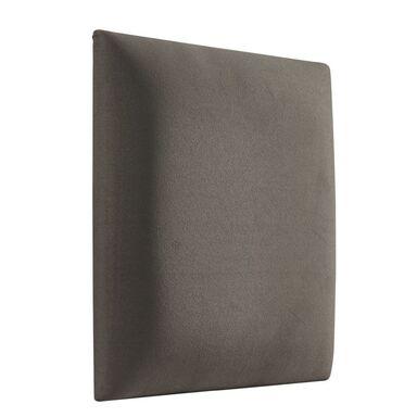 Panel tapicerowany Zimny brąz 30 x 30 cm