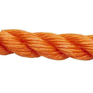 Lina polipropylenowa 200 kg 12 mm x 1 mb skręcana pomarańczowa STANDERS