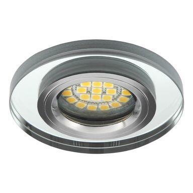 Oprawa stropowa LEONI O-SR srebrne szkło KANLUX