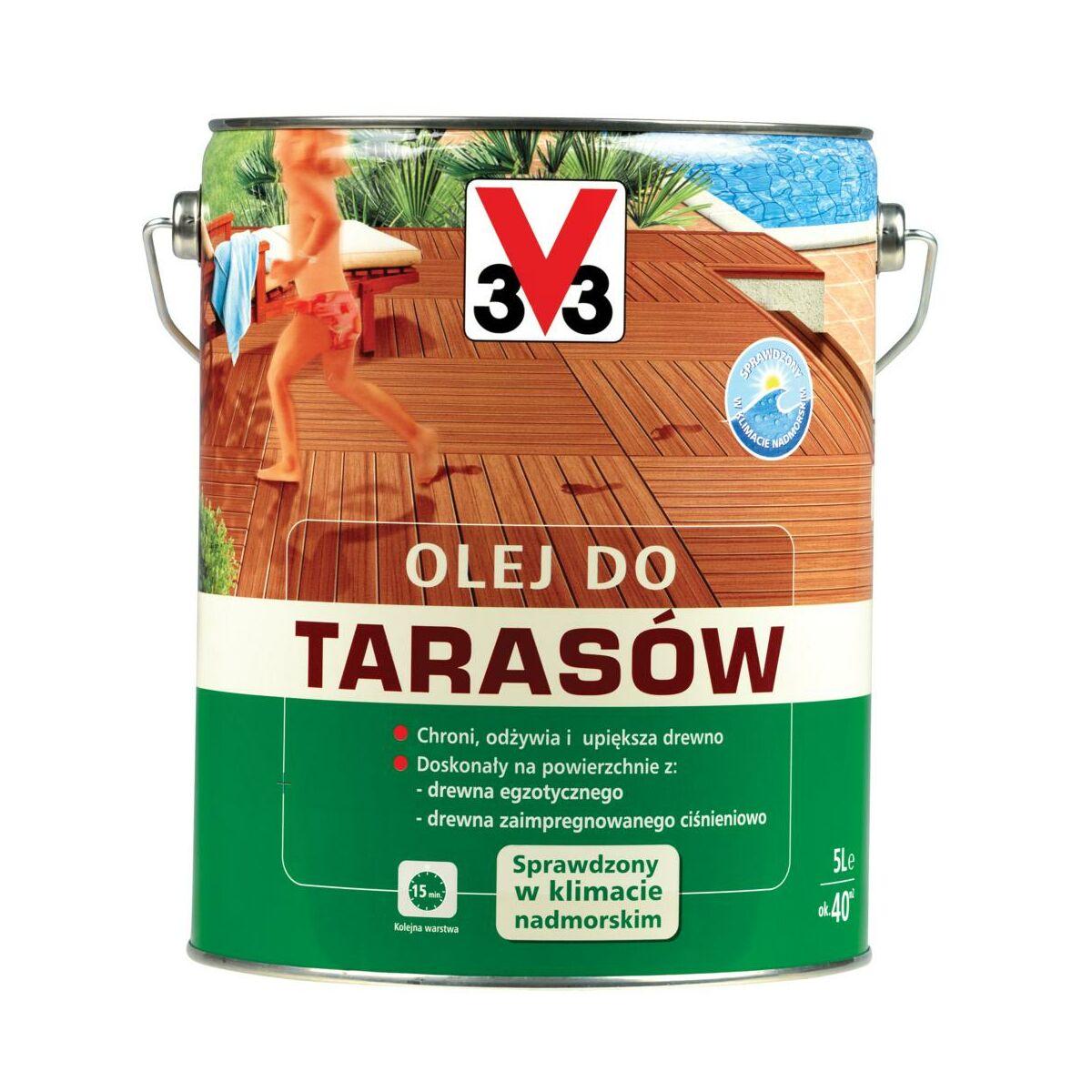 Olej Do Tarasow 5 L Palisander V33 Preparaty I Oleje Do Tarasow W Atrakcyjnej Cenie W Sklepach Leroy Merlin