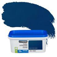 Farba wewnętrzna EMULSJA 2.5 l Kobaltowa głębia LUXENS